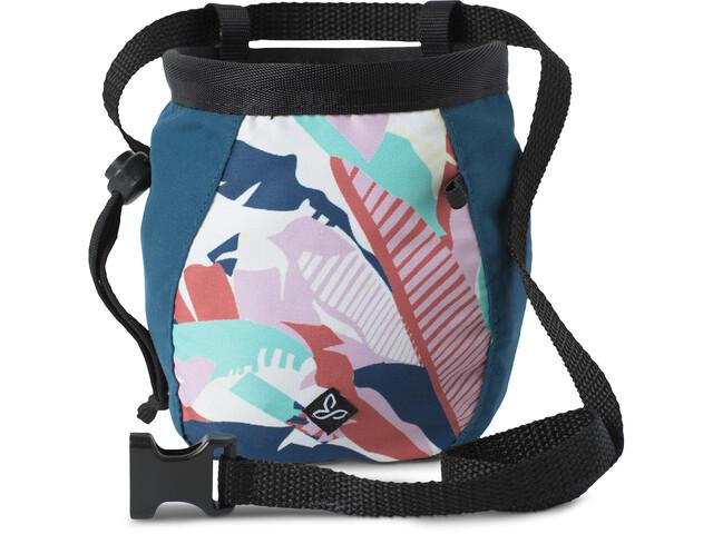 Prana Large Kalkpose med bælte Damer, blå/hvid